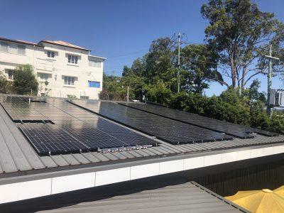 commercial solar tweed