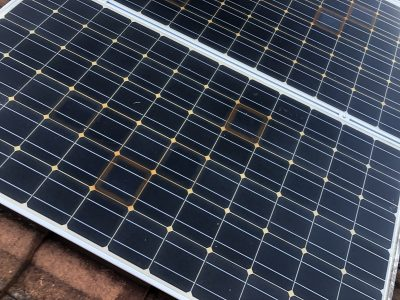 solar cell yellowing
