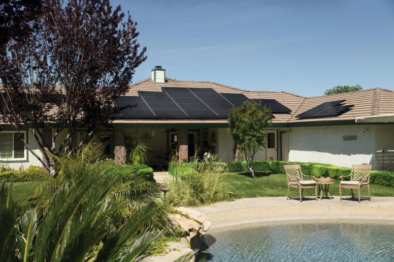 average energy use with solar